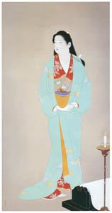 thumbnail Uemura Shōen – Sōshi-arai Komachi [from Uemura Shōen Exhibition on the 50th Anniversary of Her Death]