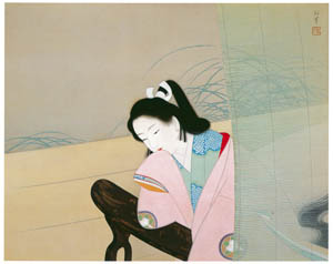 thumbnail Uemura Shōen – Masculine Dance [from Uemura Shōen Exhibition on the 50th Anniversary of Her Death]