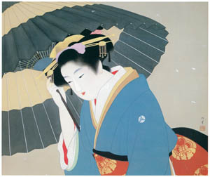 thumbnail Uemura Shōen – Snow [from Uemura Shōen Exhibition on the 50th Anniversary of Her Death]