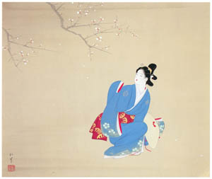 thumbnail Uemura Shōen – Spring Journey [from Uemura Shōen Exhibition on the 50th Anniversary of Her Death]