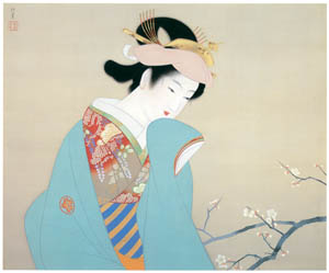 thumbnail Uemura Shōen – Fragrance of Spring [from Uemura Shōen Exhibition on the 50th Anniversary of Her Death]