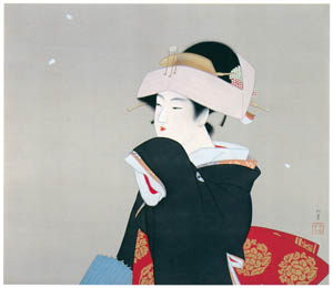 thumbnail Uemura Shōen – Spring [from Uemura Shōen Exhibition on the 50th Anniversary of Her Death]
