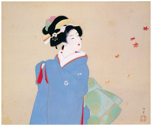 thumbnail Uemura Shōen – Deep Autumn [from Uemura Shōen Exhibition on the 50th Anniversary of Her Death]