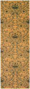 thumbnail William Morris – Rose pattern (for hand-painted tiles) [from William Morris Full-Color Patterns and Designs]