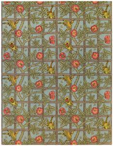 ウィリアム・モリス – 格子垣のデザイン [William Morris Full-Color Patterns and Designsより]のサムネイル画像