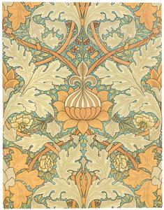 ウィリアム・モリス – 壁紙 [William Morris Full-Color Patterns and Designsより]のサムネイル画像