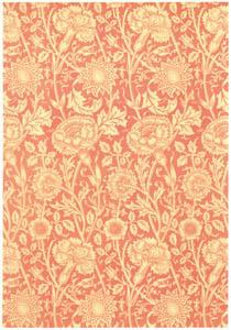 ウィリアム・モリス – ピンクとバラのデザイン [William Morris Full-Color Patterns and Designsより]のサムネイル画像
