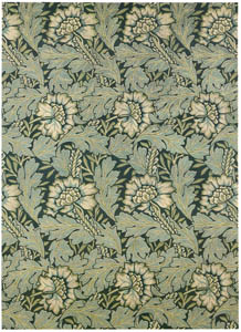 thumbnail William Morris – Anemone design (for woven silk and wool tapestry) [from William Morris Full-Color Patterns and Designs]