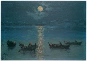 ラグーザ玉 – 四隻の舟 [図録 ラグーザ玉展より]のサムネイル画像