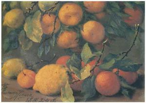 ラグーザ玉 – オレンジ [図録 ラグーザ玉展より]のサムネイル画像