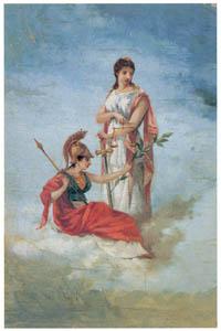 ラグーザ玉 – 女神 [図録 ラグーザ玉展より]のサムネイル画像
