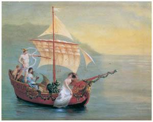 thumbnail Kiyohara Tama – Boat (Mythology) [from Tama Eleonora Ragusa]