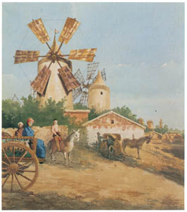 ラグーザ玉 – 風車 [図録 ラグーザ玉展より]のサムネイル画像