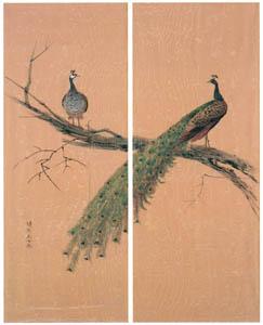 ラグーザ玉 – 孔雀 [図録 ラグーザ玉展より]のサムネイル画像