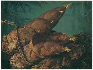 ラグーザ玉 – 筍 [図録 ラグーザ玉展より]のサムネイル画像