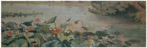 ラグーザ玉 – 睡蓮池 [図録 ラグーザ玉展より]のサムネイル画像