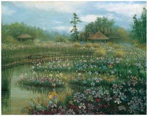 thumbnail Kiyohara Tama – Horikiri Iris Garden [from Tama Eleonora Ragusa]