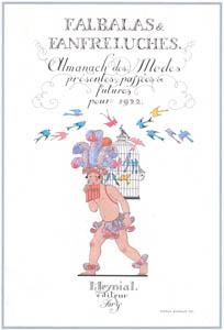 thumbnail George Barbier – Falbalas et fanfreluches. Almanach des modes présentés, passées et futures pour 1922 [from BARBIER COLLECTION I FASHION CALENDAR 1922-1926]