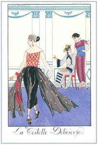 thumbnail George Barbier – La Toilette Délicieuse [from BARBIER COLLECTION I FASHION CALENDAR 1922-1926]