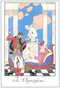 ジョルジュ・バルビエ – 侵略  [バルビエ・コレクション I FASHION CALENDAR 1922-1926より]のサムネイル画像