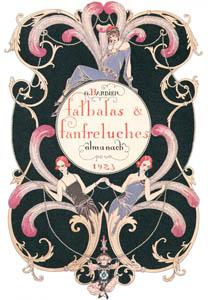 thumbnail George Barbier – Falbalas et fanfreluches. Almanach des modes présentés, passées et futures pour 1923 [from BARBIER COLLECTION I FASHION CALENDAR 1922-1926]