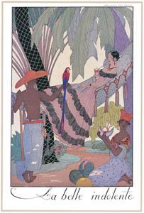 ジョルジュ・バルビエ – うるわしき怠惰 [バルビエ・コレクション I FASHION CALENDAR 1922-1926より]のサムネイル画像