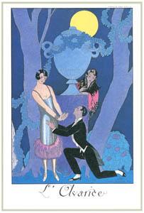 ジョルジュ・バルビエ – 貪欲 [バルビエ・コレクション I FASHION CALENDAR 1922-1926より]のサムネイル画像
