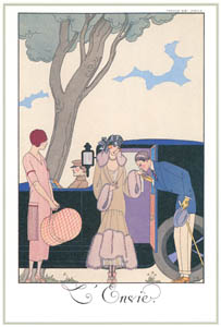 thumbnail George Barbier – L'Envie [from BARBIER COLLECTION I FASHION CALENDAR 1922-1926]