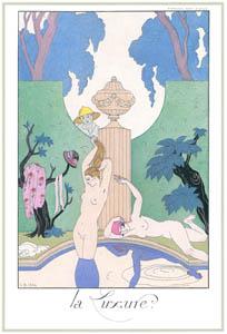 ジョルジュ・バルビエ – 欲望 [バルビエ・コレクション I FASHION CALENDAR 1922-1926より]のサムネイル画像