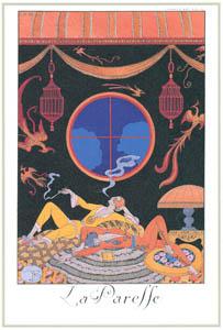 ジョルジュ・バルビエ – 怠惰 [バルビエ・コレクション I FASHION CALENDAR 1922-1926より]のサムネイル画像