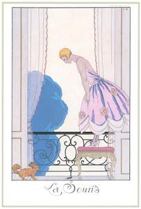 ジョルジュ・バルビエ – ネズミ [バルビエ・コレクション I FASHION CALENDAR 1922-1926より]のサムネイル画像