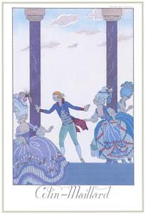 ジョルジュ・バルビエ – 目隠し鬼 [バルビエ・コレクション I FASHION CALENDAR 1922-1926より]のサムネイル画像