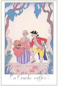 ジョルジュ・バルビエ – 壊れた甕 [バルビエ・コレクション I FASHION CALENDAR 1922-1926より]のサムネイル画像