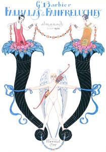 thumbnail George Barbier – Falbalas et fanfreluches pour 1926 [from BARBIER COLLECTION I FASHION CALENDAR 1922-1926]