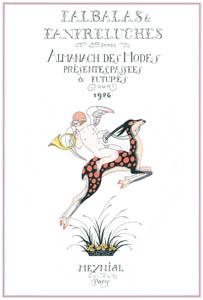 ジョルジュ・バルビエ – ファルバラ・エ・ファンフルリュシュ 1926年 扉絵 [バルビエ・コレクション I FASHION CALENDAR 1922-1926より]のサムネイル画像