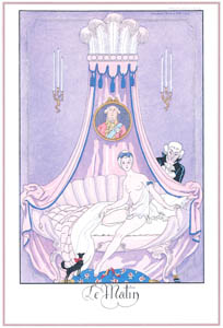 thumbnail George Barbier – Le Matin [from BARBIER COLLECTION I FASHION CALENDAR 1922-1926]