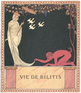 ジョルジュ・バルビエ – ビリチスの人生 [バルビエ・コレクション II ビリチスの歌より]のサムネイル画像