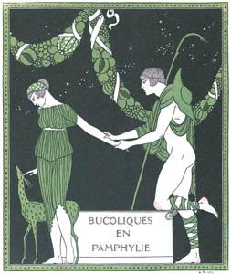 thumbnail George Barbier – Bucoliques en Pamphylie [from BARBIER COLLECTION II LES CHANSONS DE BILITIS]