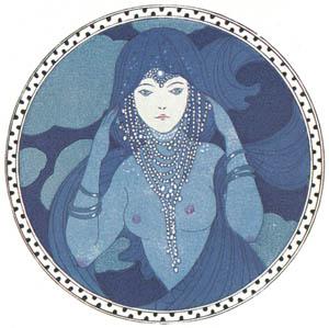 ジョルジュ・バルビエ – 青い瞳のお月さま [バルビエ・コレクション II ビリチスの歌より]のサムネイル画像