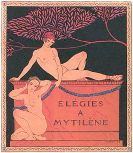 thumbnail George Barbier – Elégies a Mytilène [from BARBIER COLLECTION II LES CHANSONS DE BILITIS]