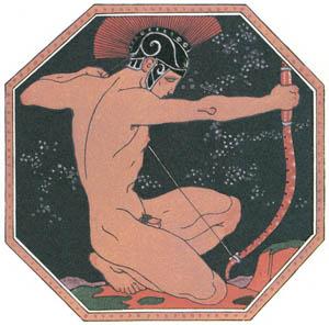 ジョルジュ・バルビエ – 恋 [バルビエ・コレクション II ビリチスの歌より]のサムネイル画像