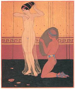 ジョルジュ・バルビエ – お清め [バルビエ・コレクション II ビリチスの歌より]のサムネイル画像
