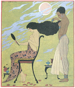 ジョルジュ・バルビエ – 香油 [バルビエ・コレクション II ビリチスの歌より]のサムネイル画像