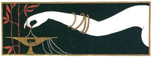 ジョルジュ・バルビエ – 宝石 [バルビエ・コレクション II ビリチスの歌より]のサムネイル画像