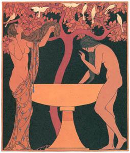 ジョルジュ・バルビエ – 水盤の澄んだ水 [バルビエ・コレクション II ビリチスの歌より]のサムネイル画像
