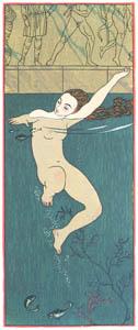 ジョルジュ・バルビエ – 湯浴み [バルビエ・コレクション II ビリチスの歌より]のサムネイル画像
