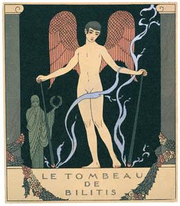 ジョルジュ・バルビエ – ビリスチの墓 [バルビエ・コレクション II ビリチスの歌より]のサムネイル画像