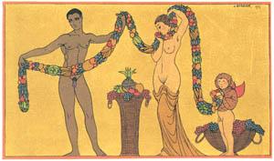 thumbnail George Barbier – Illustration du Bibliographie [from BARBIER COLLECTION II LES CHANSONS DE BILITIS]
