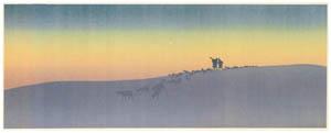 thumbnail Henri Rivière – Affiche « La Marche à l'Étoile » [from Maître français de l ukiyo-e Henri Rivière]