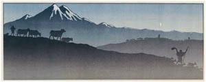 アンリ・リヴィエール – ポスター「月の明かり」 [フランスの浮世絵師 アンリ・リヴィエール展より]のサムネイル画像